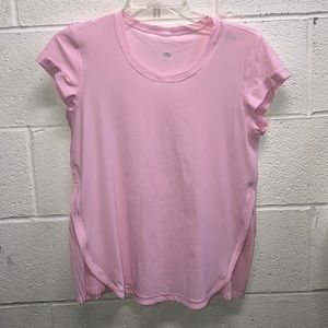 lululemon light pink t-shirt sz8 61919